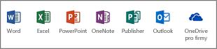 Desktopové aplikace Office