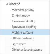 Obecné > Mobilní zařízení