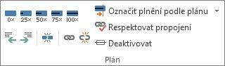 Skupina Plán na kartě Úkol