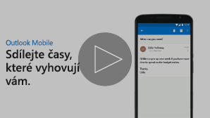 Miniatura pro video Odeslání časových možností pro schůzky – přehrajte kliknutím