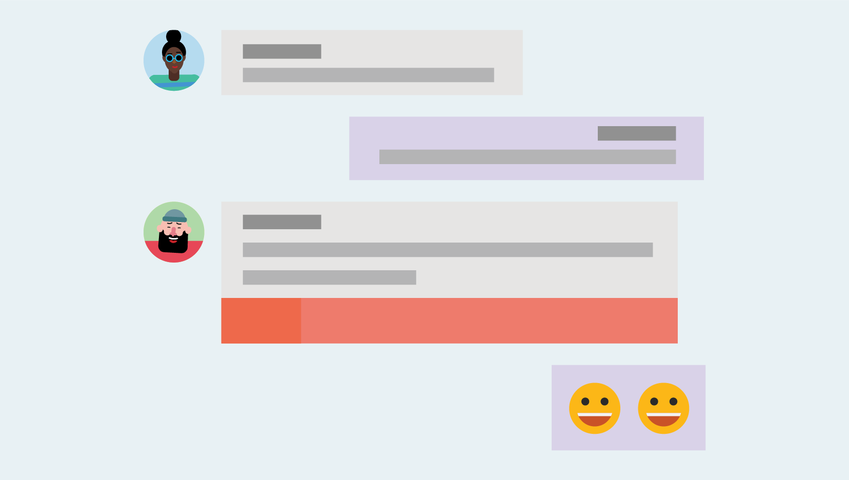 Chatování ve týmy