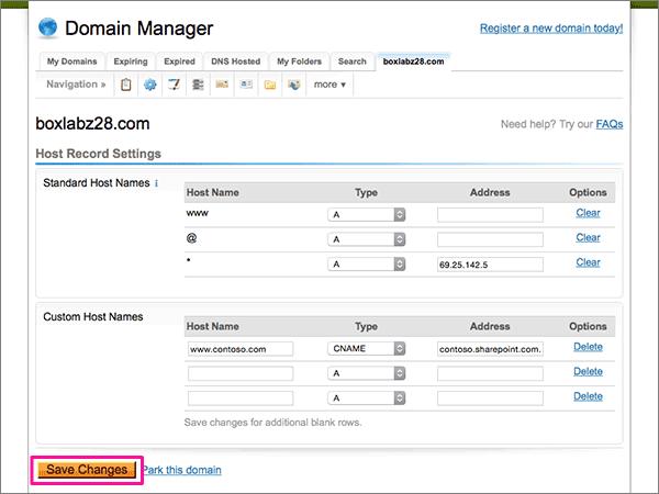DomainExplorer-doporučených postupů – konfigurace 3-5