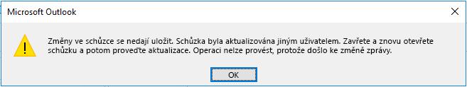 Dialogové okno chyby