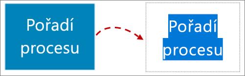 Úprava textu v obrazci