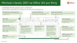 Miniatura průvodce pro přechod z Excelu 2007 na Office 365