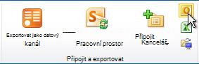 Připojení k příkaz aplikace Outlook
