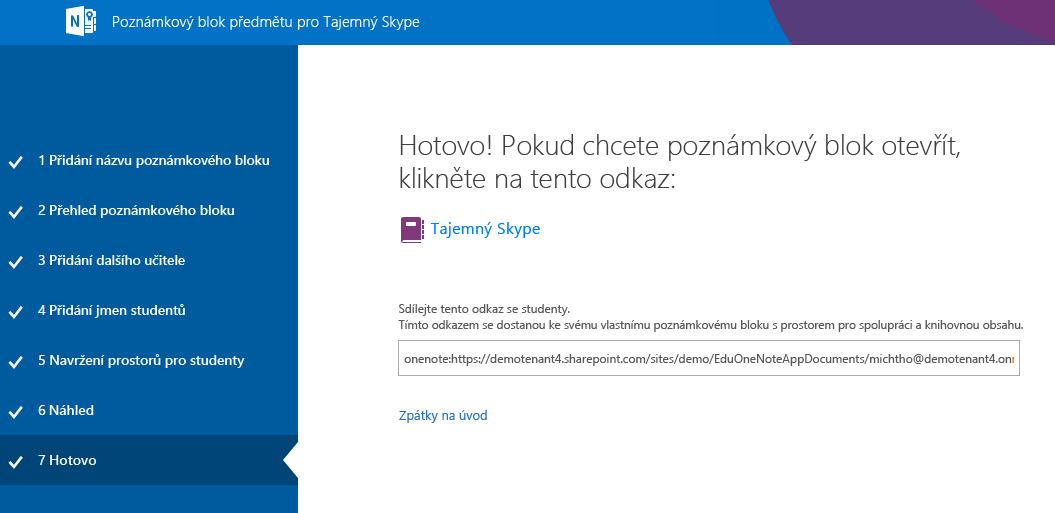 Teď je nastavení Mystery Skypu hotové.