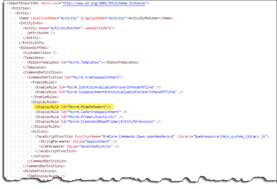 Command Checker - Appointment - Command - XML fixed