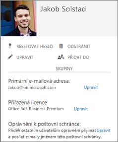 Požádejte uživatele, aby přidali svoje fotky, abyste je viděli v konzole pro správu.
