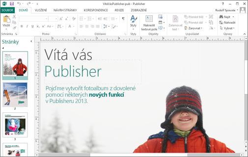 Seznamte se s Microsoft Publisherem