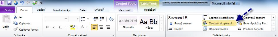 Home tab