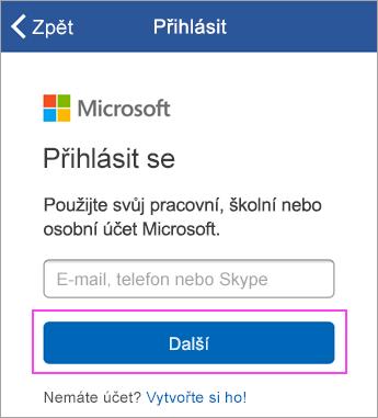 Zadejte svoji e-mailovou adresu