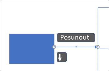 Přesunutí spojnice o pixel