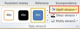 On the Format tab, in the Shape Styles group, click Shape Fill to display the color palette.