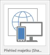 Tlačítko šablony webová aplikace Access