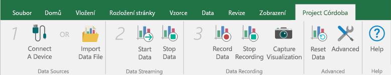 Připojení zdroje dat