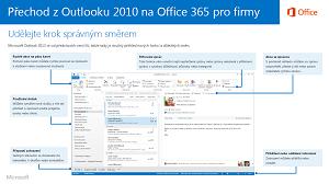 Miniatura průvodce pro přechod z Outlooku 2010 na Office 365