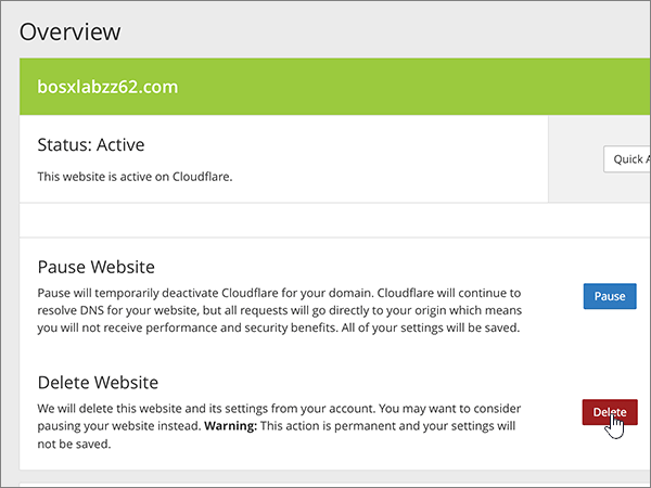 Cloudflare-doporučených postupů-změna delegování-1-2