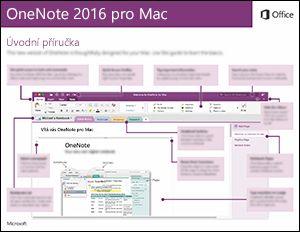 OneNote 2016 pro Mac – úvodní příručka