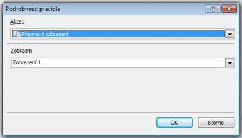Přidání, odstranění a přepnutí zobrazení ve formuláři