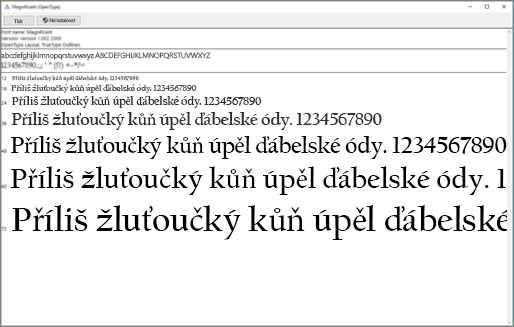 Prohlížeč písem systému Windows vám umožní písma zobrazit a nainstalovat na počítač s Windows.