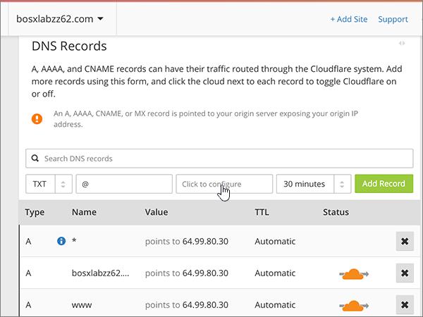 Cloudflare – doporučených postupů ověření-1-2