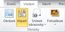 Jak přidat klipart v Office 2010 a 2007 aplikace