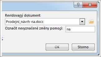 Pole Revidovaný dokument