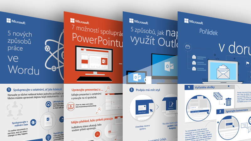 Infografika pro Outlook, Word a PowerPoint