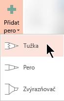 Nakreslit předplatitele Office 365 rukopisu pomocí tři různé textury: tužky, pero nebo zvýrazňovačem