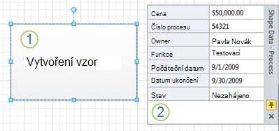 Obrazec Proces bez datového symbolu