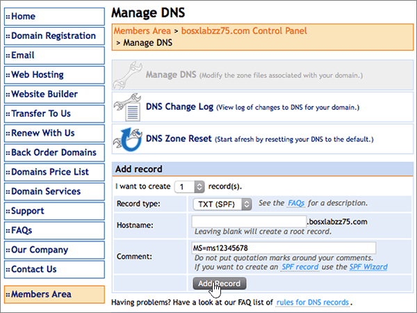 DomainMonster – doporučených postupů ověření-1-2