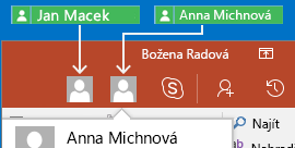 Spolupráce v PowerPointu pro Android v reálném čase
