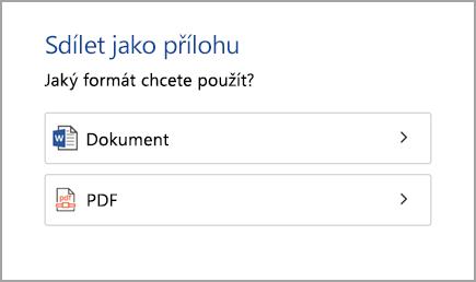 Dokument nebo soubor PDF