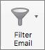 Tlačítko Pošta filtr
