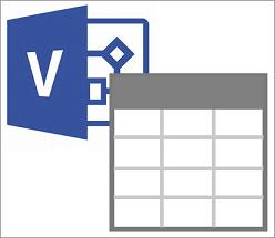 Export balíčku šablony funkce Vizualizér dat