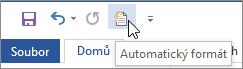 Ikona Automatický formát