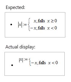 Rovnice se ve Wordu 2016 zobrazují chybně zarovnané nebo oříznuté.