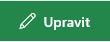Snímek obrazovky s tlačítkem odkazu pro úpravy na SharePointu