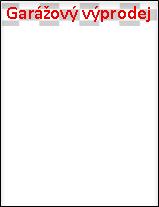 Tento nápis běží podél horního okraje jedné stránky.