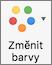 Na kartě Návrh grafu vyberte Změnit barvy