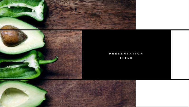 fotka titulní stránky prezentace o nápadech v oblasti designu interiérů