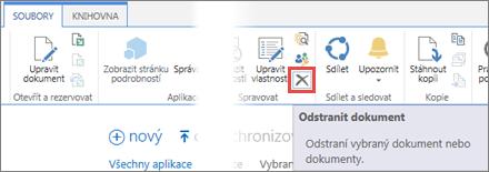 Odstranění aplikace z knihovny Aplikace pro SharePoint v katalogu aplikací
