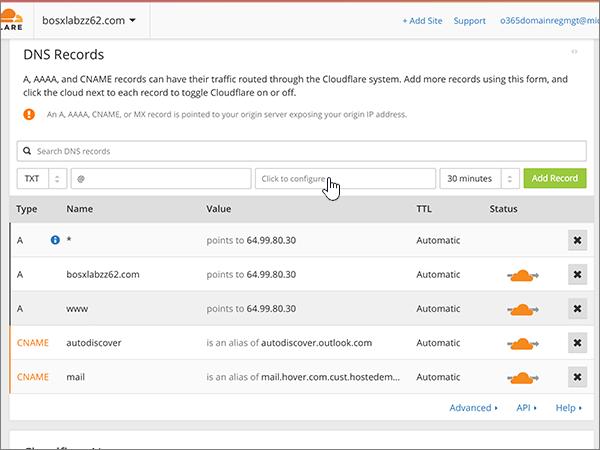 Cloudflare – doporučených postupů – konfigurace 4-2