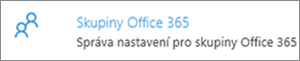 Skupiny Office 365