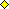 Ovládací úchyt – žlutý kosočtverec