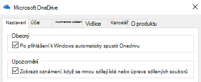 Pokud chcete zakázat všechna oznámení sdílených souborů OneDrivu, přejděte do nastavení aplikace OneDrive a vypněte je.