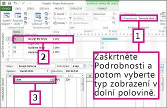 Obrázek rozdělení okna na kombinované zobrazení
