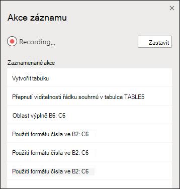 Až nahráli skript Office, uvidíte popis toho, co jednotlivé kroky dělá.