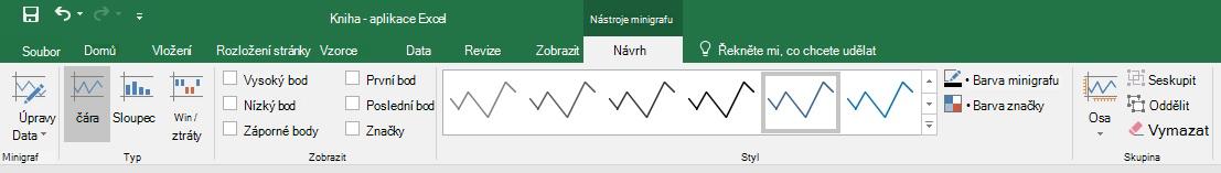 Nástroje minigrafy